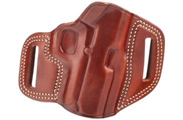 34-Galco Combat Master Belt Holster, Leather