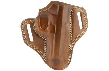 52-Galco Combat Master Belt Holster, Leather