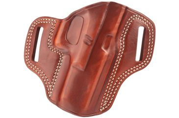 15-Galco Combat Master Belt Holster, Leather