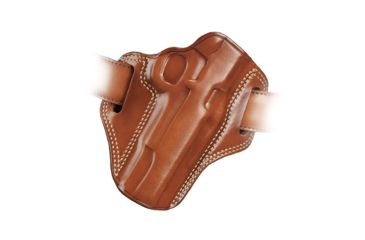 42-Galco Combat Master Belt Holster, Leather