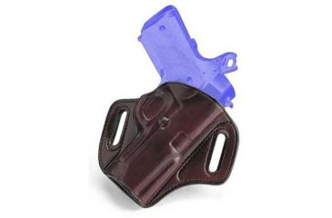 Galco Concealable Belt Holster for S&W M&P 9/40 - Right Hand, Havana CON472H