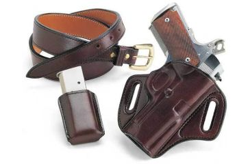 Galco Concealable Belt Holster Left Hand - Black CON203B