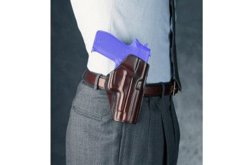1-Galco Concealed Carry Left Handed Paddle Holster for Colt 3 Inch 1911