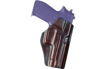 Galco Concealed Carry Paddle Holster, Right Hand, Havana, Glock 26 CCP286H