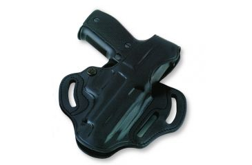Galco Cop 3 Slot Holster for Sig P250, Black, Left Hand