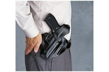 Galco Cop 3 Slot Holster Left Hand - Black CTS227B