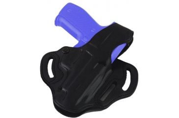 Galco Cop 3 Slot Holster - Left Hand - Black CTS473B