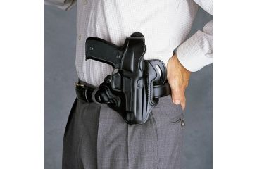 Galco Cop 3 Slot Holster - Right Hand - Black CTS472B