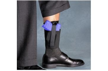 Galco Cop Ankle Band Left Hand - Black CAB3S