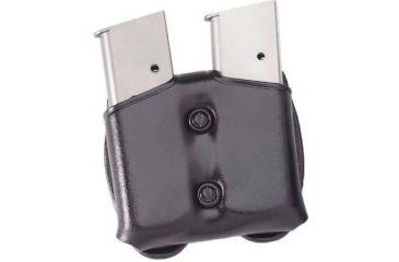 Galco Cop Double Mag Case - Ambidextrous - Black CDM22B