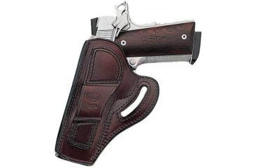 Galco Cover Six Cross Draw Belt Holster, Left Hand, Black