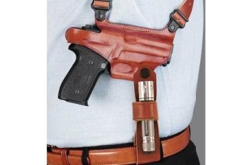 Galco Flashlight Holster Side Tie Down - Ambidextrous - Tan FTDH