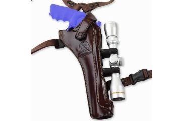 Galco Kodiak Hunter Shoulder Holster for S&W N FR 29 8 3/8in - Right Hand, Havana KH130H