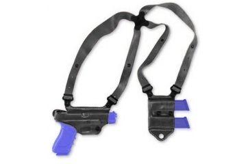 Galco Miami Classic II Shoulder System - Right Hand - Black MCII228B