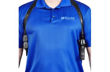 11-Galco Miami Classic II Shoulder Harness System, Leather