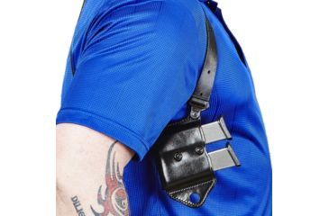 13-Galco Miami Classic II Shoulder Harness System, Leather