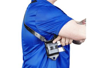 14-Galco Miami Classic II Shoulder Harness System, Leather