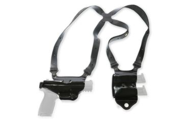 2-Galco Miami Classic II Shoulder Harness System, Leather