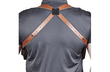 4-Galco Miami Classic II Shoulder Harness System, Leather