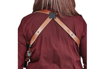 17-Galco Miami Classic II Shoulder Harness System, Leather