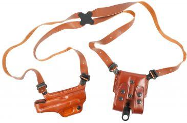 Galco Miami Classic II Shoulder System-Right Hand-Tan MCII224