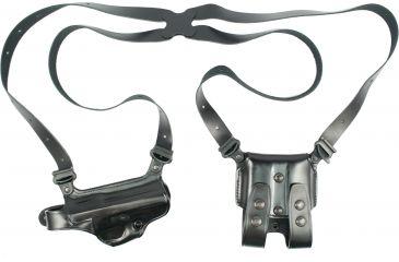 Galco Miami Classic Shoulder Holster System Black Beretta 92-96 MC202B