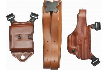 Galco Miami Classic Shoulder Holster System Tan 5in 1911 Style Pistols Gc Ht Ecdcec Mc212