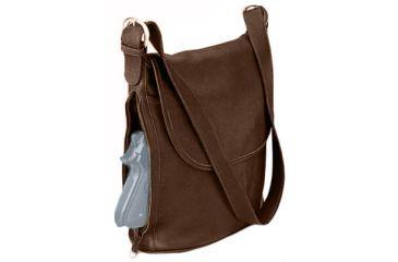 Galco Pandora Holster Handbag Ambidextrous Brown Panbrn