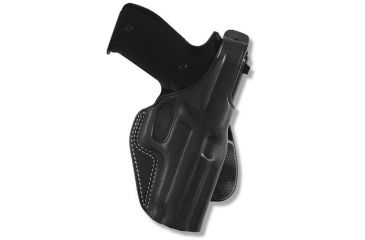 Galco PLE Unlined Paddle Holster - Left Hand    - Black PLE205B
