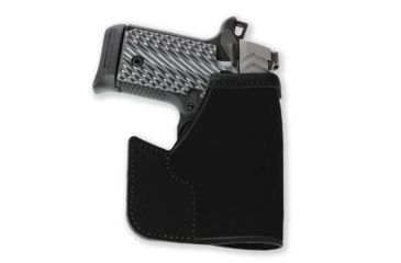 Galco Pocket Protector Holster For Ruger LC9 Black Ambidextrous PRO636B
