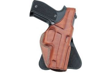 Galco Professional Law Enforcement Paddle Holster, Right Hand, Black - S&W J Fr 36 2in PLE160B