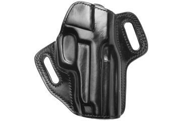Galco Royal Deluxe Belt Holster - Right Hand   - Black RDX248B
