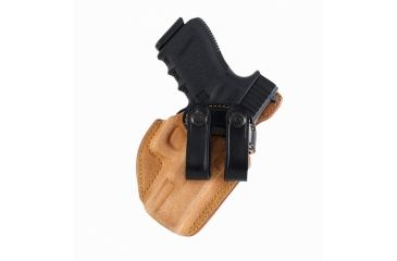 Galco Royal Guard Inside The Pant Holster -Gen 2, Black, S&W J Fr 640 Cent 2 1/8in .357, Right RG158B