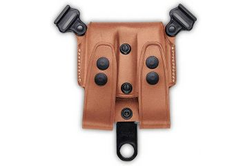 Galco SCL Double Mag Case For System - Ambidextrous - Tan SCL26