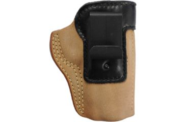 Galco Scout Clip On Inside Pant Holster - Right Hand, Tan w/ Black Mouthband, Most 3 in. 1911's SCT218B