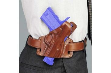 Galco Silhouette High Ride Holster - Left Hand - Tan SIL213