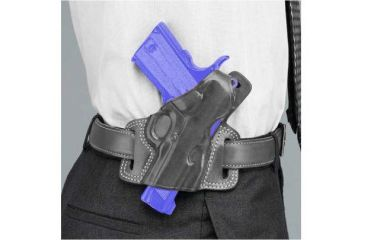 Galco Silhouette High Ride Holster - Right Hand   - Black SIL446B