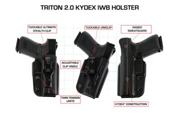 Galco Triton Kydex IWB Holster