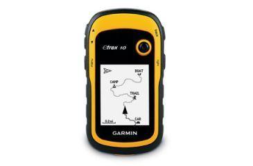 Gamin Etrex 10 Worldwide Handheld Gps Yellow Front