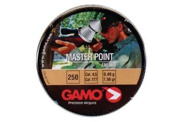 Gamo Air Rifles Gamo Master Point Pellets .177 Caliber Pointed Head 250 Per Tin 632063454