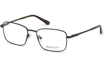 b9efc702d5f8 Gant GA3170 Eyeglass Frames - Matte Dark Brown Frame Color