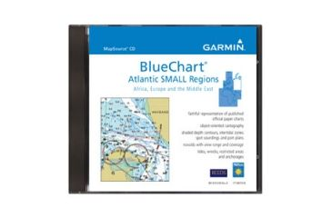 Garmin MapSource Marine BlueChart Atlantic Small CD-ROM 010-10318-01