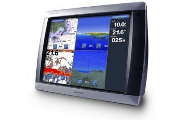 Garmin Chartplotters GPSMAP5015,with GPS17x sensor, worldwide satellite imagery, g2 Vision compatible 010-00692-10