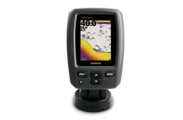 Garmin Echo 301c Fishfinder Portable Bundle w/ Rechargeable Battery,Charger,Cable,Mount and Float 010-01260-02