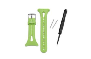 Garmin Forerunner 10 Replacement Watch Band - green and white 010-11251-19