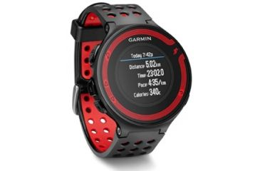 Garmin Forerunner 220 black/red bundle GPS running watch 010-01147-30
