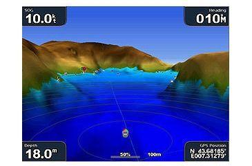 Garmin GPSMAP 4012 w/Ext GPS sensor, worldwide satellite imagery, g2 Vision compatible 010-00592-00