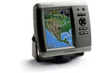 Garmin GPSMAP 535 w/Int GPS ant., worldwide satellite imagery, built-in inland lakes detail for US, g2 Vision compatible 010-00599-00
