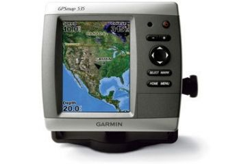 Garmin GPSMAP 535 w/Int GPS ant., worldwide satellite imagery, built-in inland lakes detail for US, g2 Vision compatible GPS Fishfinders 010-00599-00 w/ Free S&H