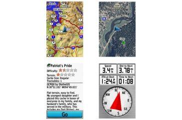 Garmin GPSMAP 62st Navigation System Screenshots
